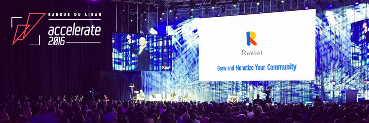 Raklet is Among the Top 10 Startups at the BDLA 2016!