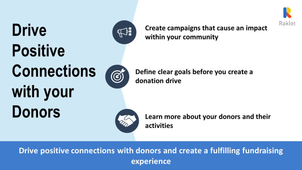 Drive positive connections with your donors as a nonprofit