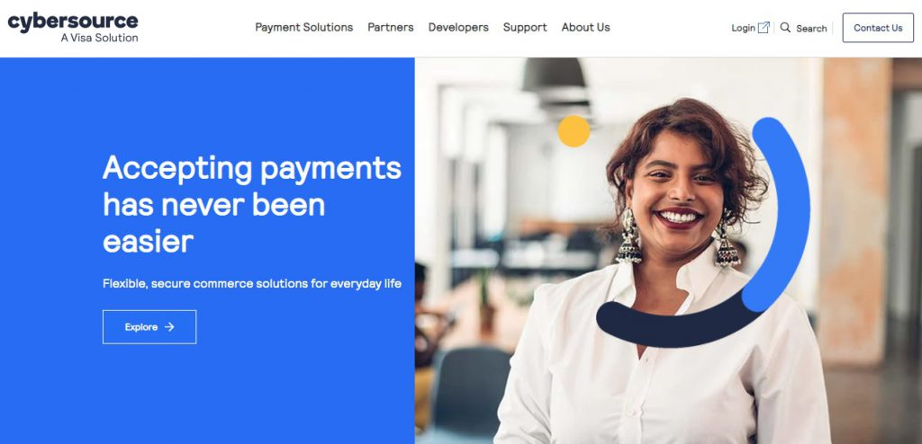 4. Cybersource as one of the alternatives to PayPal