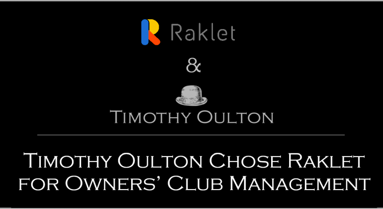 Timothy Oulton Chose Raklet for Owners' Club Management